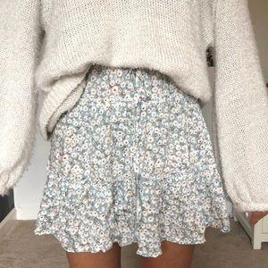 Floral Princess Polly Skirt